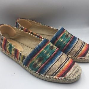 Schutz Tribal Print Women Flats
